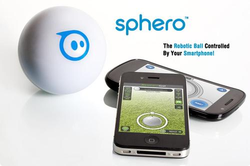 Sphero Robotic Ball Controlled by Smartphone
