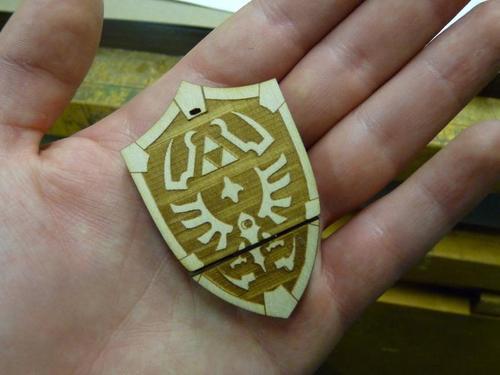 The Legend of Zelda Hylian Shield USB Flash Drive