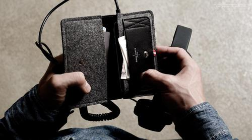 Hand Graft Phone Fold Wallet