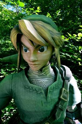 Life-Size Link Paper Craft
