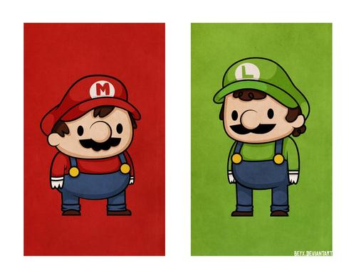 Button Eyed Video Game Characters