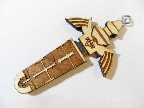 The Legend of Zelda Master Sword USB Flash Drive