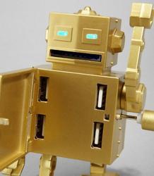 Roboto 4-Port USB Hub