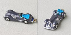 1940's Batmobile USB Flash Drive with Batman Mini Figure
