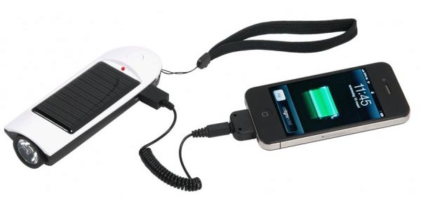A-Solar Travel Pal Portable Solar Charger with Hand Crank