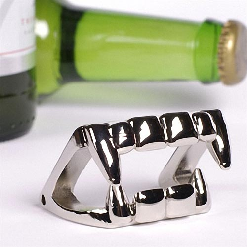 Bite Me Vampire Tooth Styled Bottle Opener