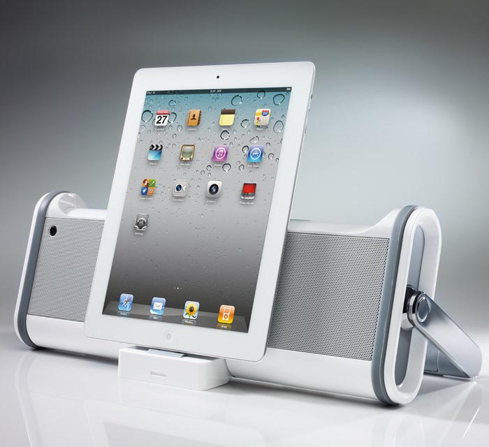 Boombox Dock Speaker for iPad