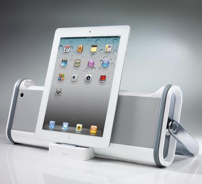 Boombox Dock Speaker for iPad