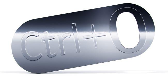 Ctrl+O Bottle Opener
