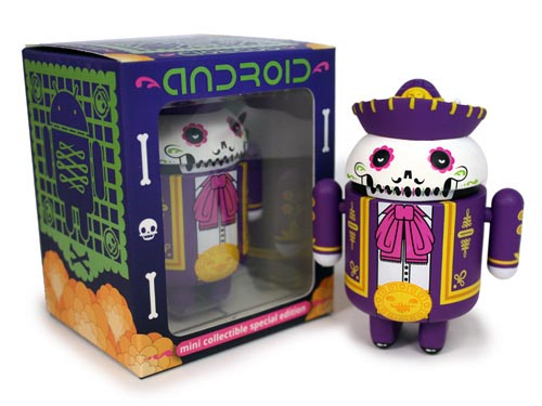 Don Pablo Calaveroid Android Mini Figure for Halloween