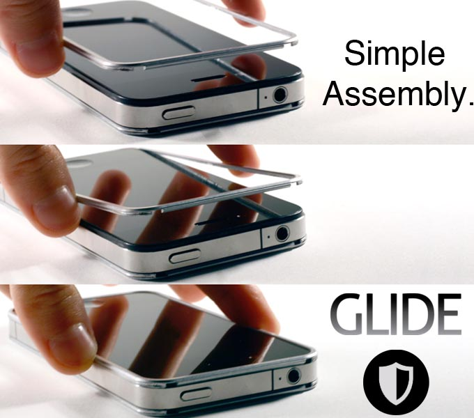 Glide Metal iPhone 4S Case