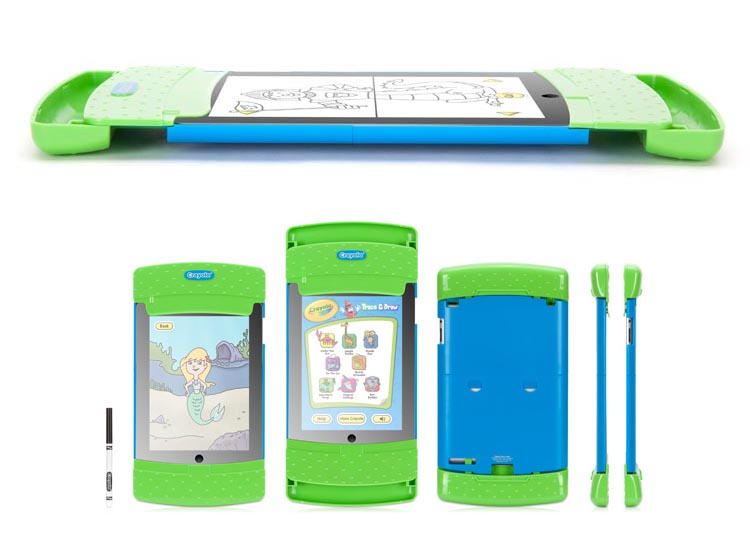 Griffin Crayola Trace & Draw iPad 2 Case for Kids