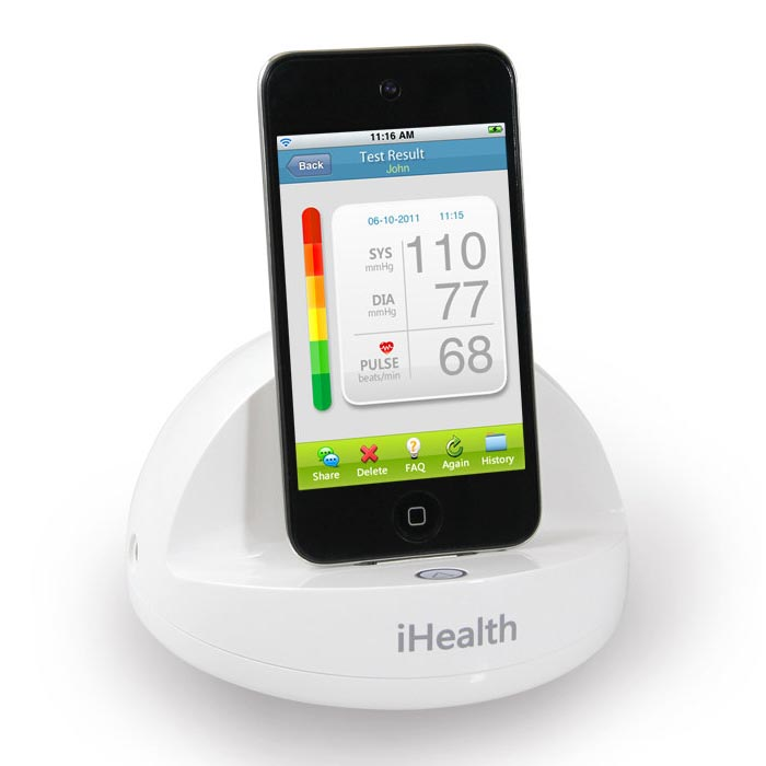 iHeath Blood Pressure Dock