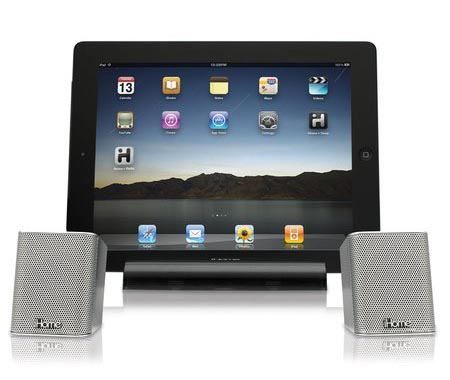 iHome iDM15 Portable Bluetooth Speakers with Speakerphone