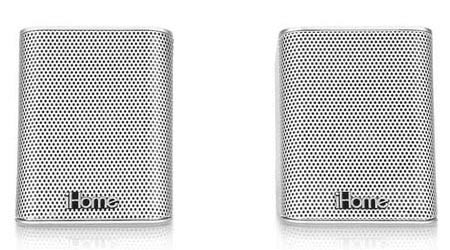 iHome iDM15 Portable Bluetooth Speakers with Speakerphone