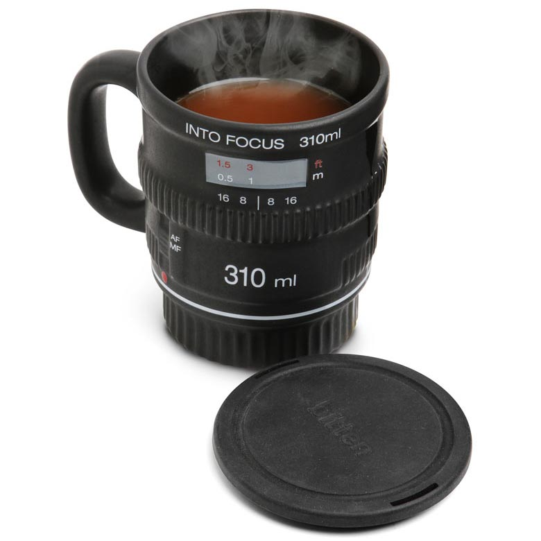 Into Focus DSLR Camera Lens Coffee Mug | Gadget HighWay