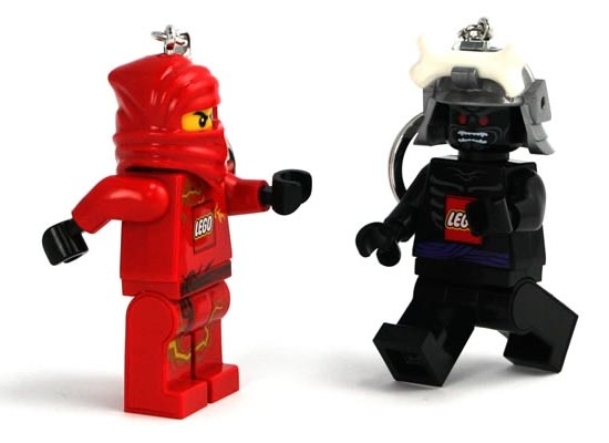 LEGO Ninjago Minifigure Keychain Light
