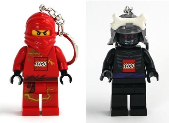 LEGO Ninjago Minifigure Keychain Light