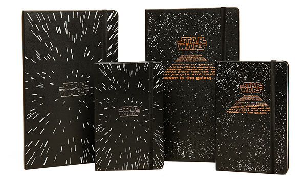 Limited Edition Star Wars Moleskine Notebooks