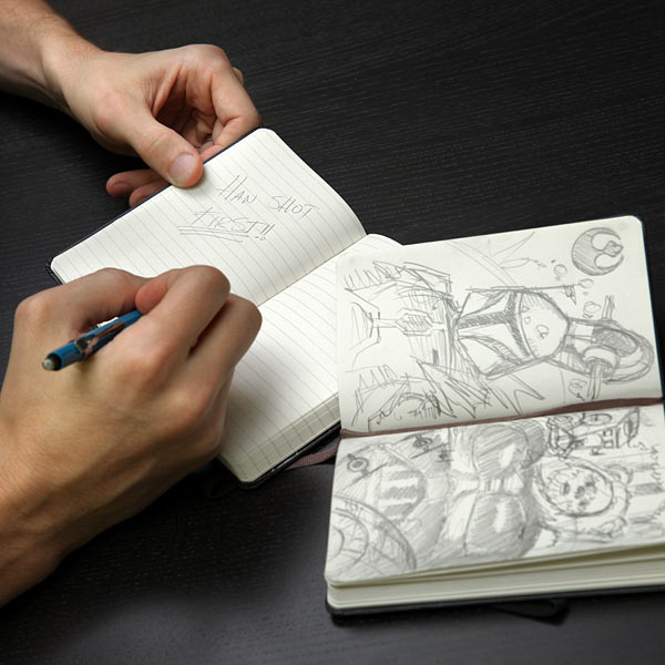 Limited Edition Star Wars Moleskine Notebooks