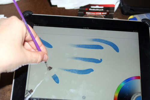 Make Your Own iPad Paintbrush