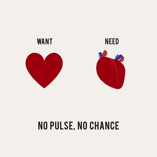 Need vs Want Illustrations