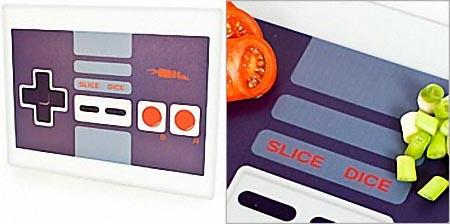 NES Gamepad Styled Cutting Board