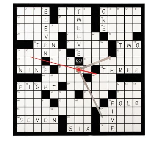 See Clock Crossword  Letters