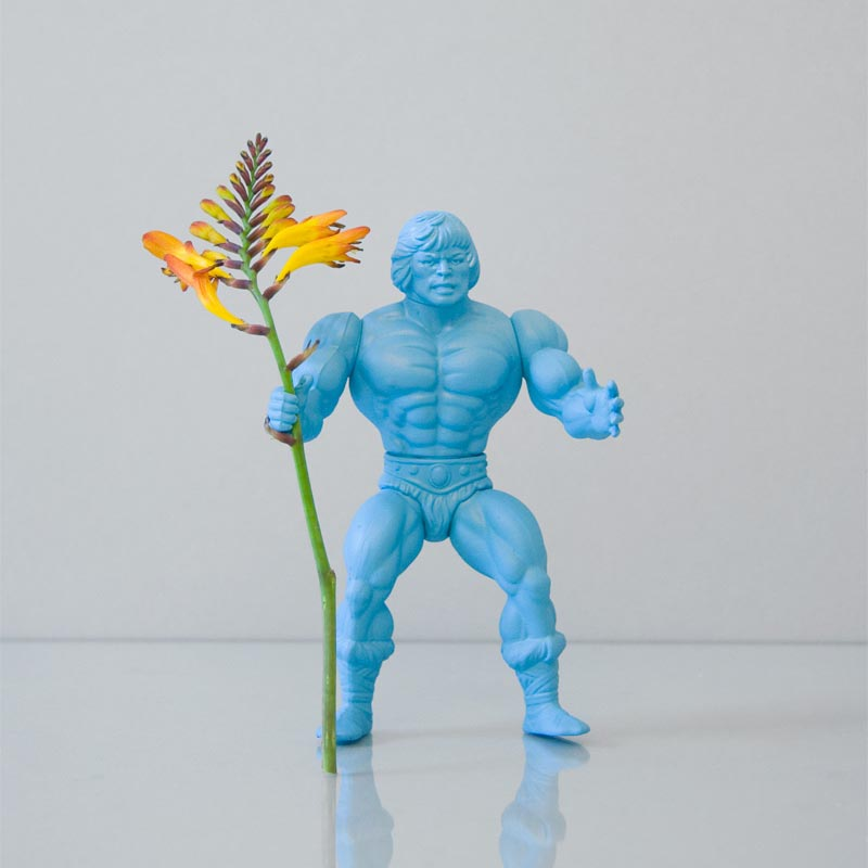 Power Flower: Action Figure Styled Vase