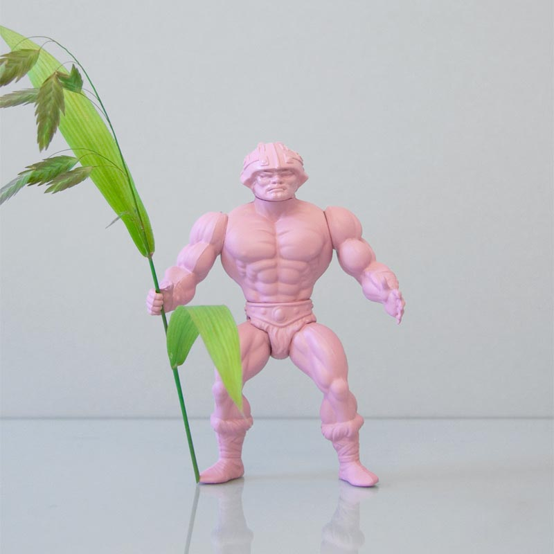Power Flower: Action Figure Styled Vase