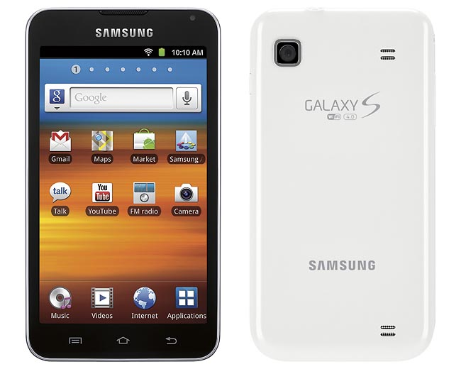 Samsung Galaxy Player 4.0 and 5.0 Now Available