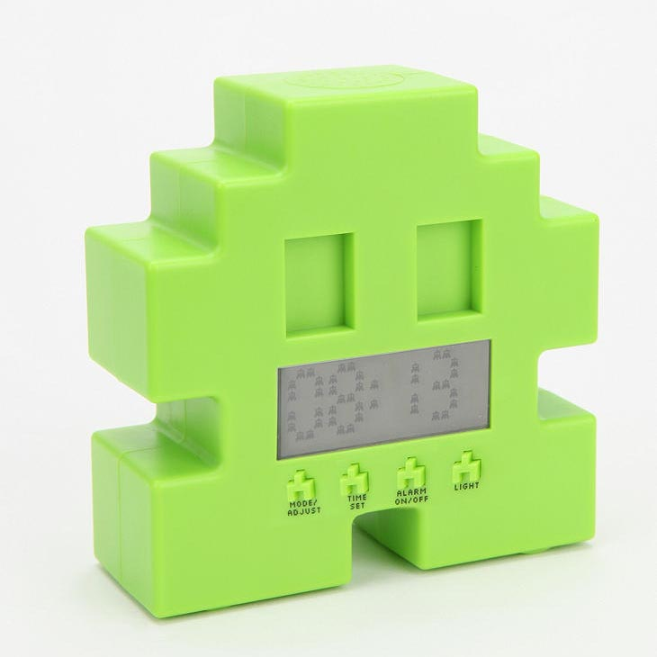 Space Invaders Alarm Clock