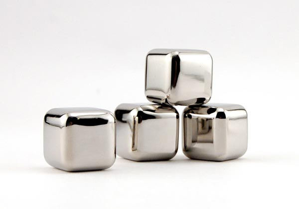 Stainless Steel Ice Cube with Tray Set