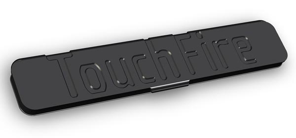 TouchFire Top-Screen Keyboard for iPad