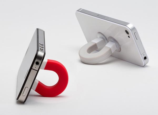 U-Magnet Shaped Stand for Various Gadgets