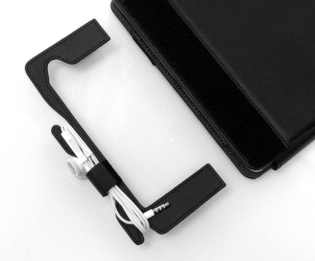 ZooGue Cord Wrap and Pen Holder for iPad