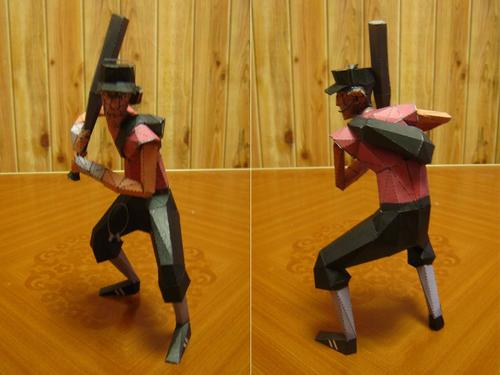 Team Fortress 2 Themed Paper Crafts