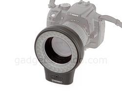 60-LED Ring Light for DSLR Camera
