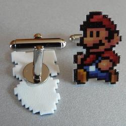 Super Mario Cufflinks