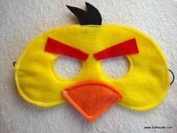 Angry Birds Felt Masks