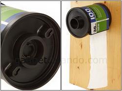 Film Roll Styled Tissue Holder