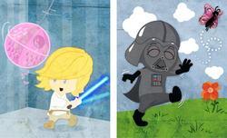 Baby Star Wars Illustration Set