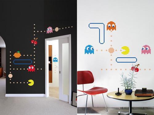 Blik Pac-Man Lives Wall Decal Series