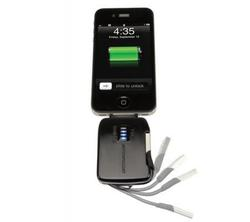 Scosche flipCHARGE Burst Emergency Backup Battery for iPhone and iPod