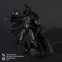Play Arts Kai Arkham Asylum Batman Action Figure