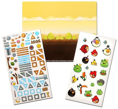 Official Licensed Angry Birds Fridge Magnet Set
