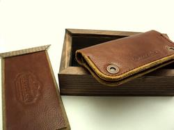 Handmade Leather iPhone 4S Case