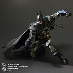 Play Arts Kai Arkham Asylum Batman Action Figure