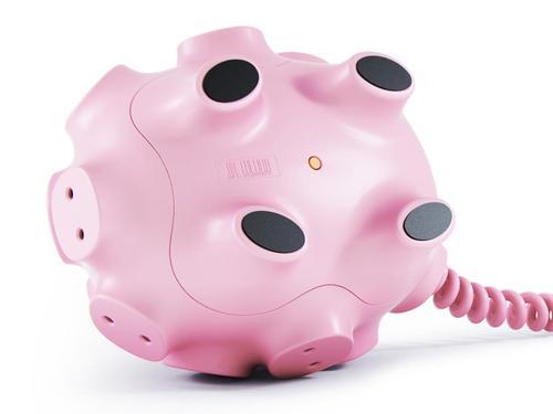 Piggy Bank Styled Power Strip