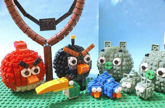 Animated LEGO Angry Birds